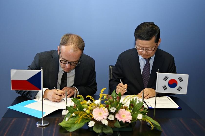 ČR a Korea