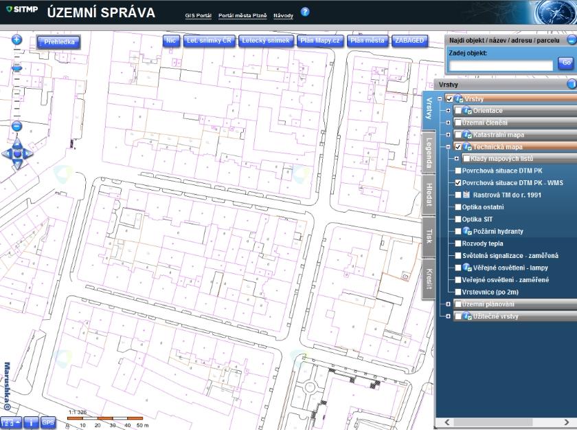 Digitální technická mapa Plzeňského kraje