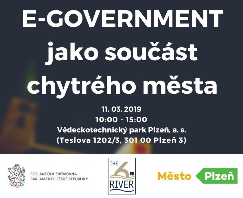 Konference E-GOVERNMENT jako součást chytrých měst