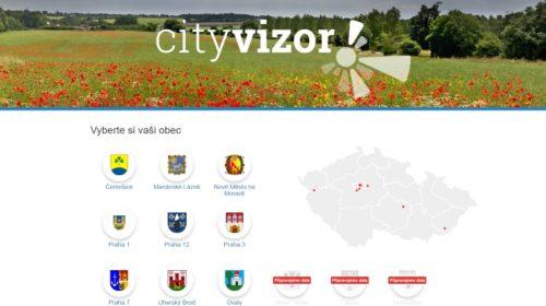 Aplikace CityVizor bude nově dostupná i pro městské části