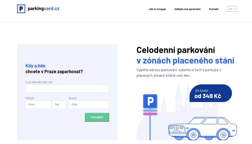 parkingcard cz