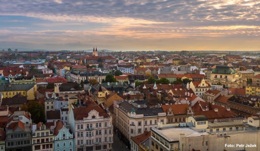Plzeň landscape