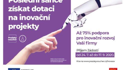 Představení čtvrté výzvy Pražských voucherů