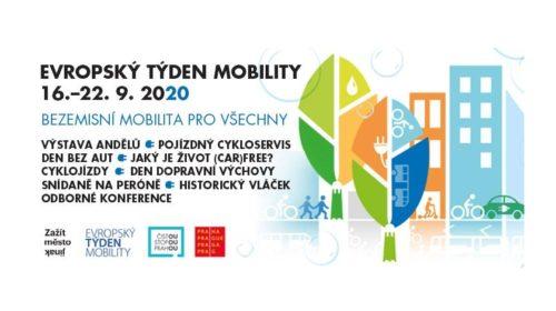 Začíná Evropský týden mobility
