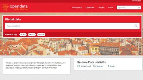 Praha otevírá data městských společností