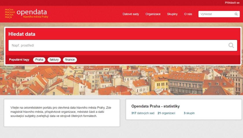 opendata Praha web