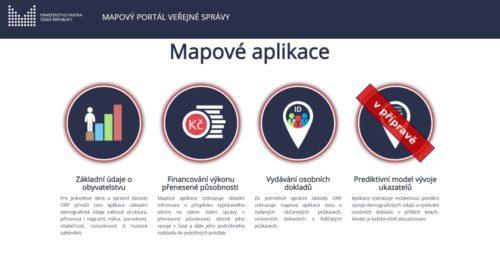 Veřejnosti se otevřel nový Mapový portál veřejné správy