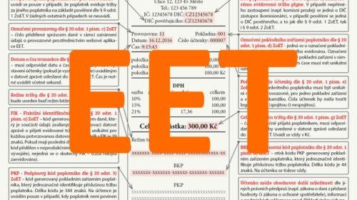 Pozor na zneužívání e-mailových adres při předávání EET účtenek
